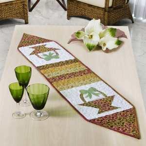 Trilho de mesa - artesanato.blog.br