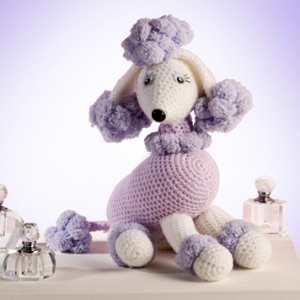 cachorrinho de croche - artesanato.blog.br