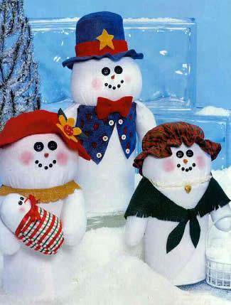 familia boneco neve