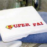 toalha bordada pais