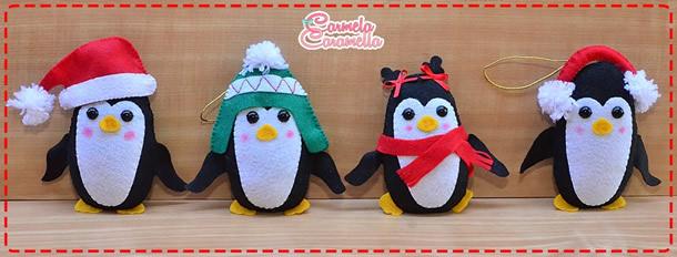 enfeite-de-natal-de-feltro-pinguim