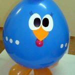 Balão da galinha pintadinha passo a passo