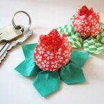 Flores em origami passo a passo