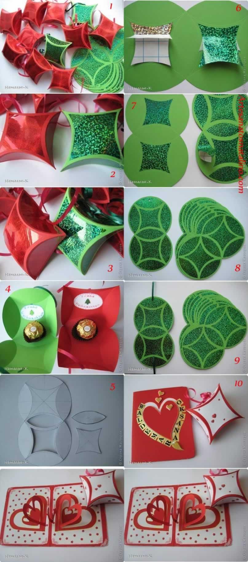 Como Fazer Mini Caixa De Natal