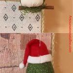Corujinhas natalinas com molde e passo a passo