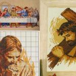 ponto-cruz-religiosos-ideias