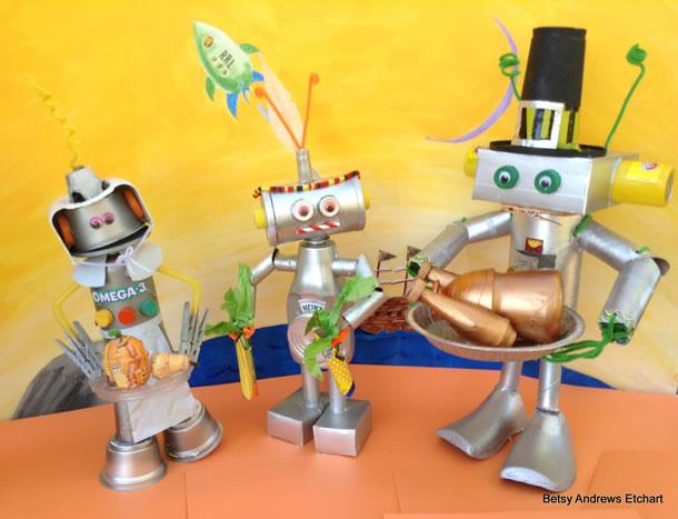 brinquedos-faceis-de-fazer-robo-reciclado
