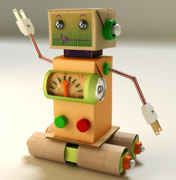 brinquedos-faceis-de-fazer-robo
